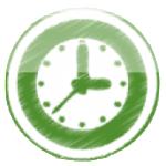 green-clock
